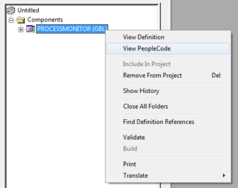 Viewing Component Leve    | PeopleSoft Wiki
